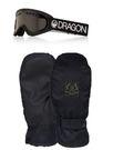 маска  Dragon + ръкавици Pow