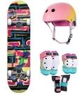 Скейтборд коплект+протектори