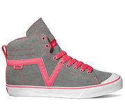 VANS Susie Hi grey/neon pink