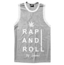 .PIMP TOP RAP AND ROLL GREY HEATHER