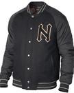 NIXON GRAD JACKET BLACK/CHARCOAL