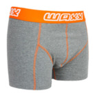 WAXX DARK GREY BOXER