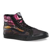 VANS SK8-HI SLIM (ombre floral) black/black