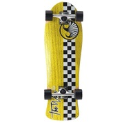 THE WAVE LONGBOARD CHECER YELLOW