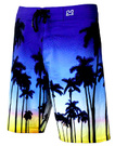 Waxx MEN SURFSHORT PRINTED MORNING