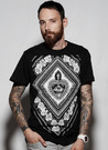 SNAKE LEGEND Black Sacred HeartT-shirt
