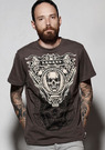 SNAKE LEGEND Skull in a Triangle T-shirt