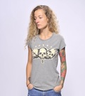 SNAKE LEGEND Three Skulls T-shirt