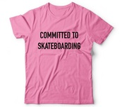 Circa COMMITTED TEE LIGHT PINK