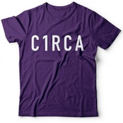 CIRCA TYPE TEE PURPLE
