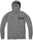 CIRCA LEAGUE ZIP HOOD ATHLETIC GREY