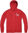 CIRCA GUILD ZIP HOOD RED