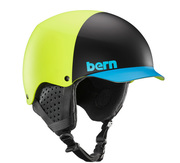 Bern TEAM BAKER EPS MATTE NEON YELLOW BLACK