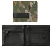 Nixon Showdown Bi-Fold Zip Wallet multicam