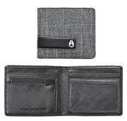 Nixon Showdown Bi-Fold Zip Wallet black wash