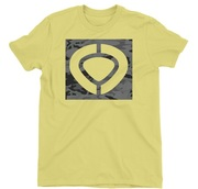 CIRCA MILITARY SQUARE  ICON TEE  YELLOW