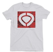CIRCA MILITARY SQUARE  ICON TEE WHITE
