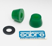 sabre SABRE Trucks Cone Bushings - Green 93A