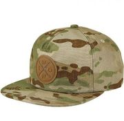 NIXON BEACHSIDE SNAPBACK HAT MULTICAM