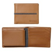 NIXON Coastal satelite id coin Wallet tan