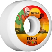 bones BONES STF WHEELS SERVOLT DRY HEAT 53MM WHITE V5