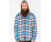 ARMADA READING FLANNEL HOODIE BIG SKY PLAID