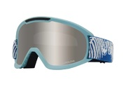 Dragon DX2 - Woven Palms with Lumalens Silver Ionized + Lumalens Flash Blue Lens