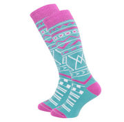 Horsefeathers RIVEN THERMOLITE SNOWBOARD SOCKS - BLUE BIRD