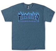 Thrasher Flame ss dark heather