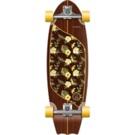 Kruuze KRUUZE Surf Skateboard 31 Moorea Plumeria Stir Surf Truck