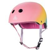 Triple eight Certified Sweat saver Helmet black rubber