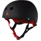 Triple eight Sweatsaver Helmet black rubber