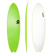 Torq 6.10 Surfboard TORQ soft board green