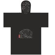 Madness Change robe poncho black speckle