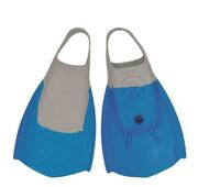 Bugz Bodyboard fins blue gray