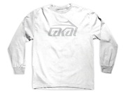 Lakai Basic Long Sleeve T-Shirt white