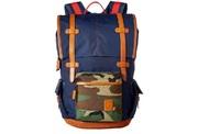 Nixon Canyon backpack navy woodland camo