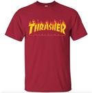 Thrasher THRASHER BLACK FLAME cardinal