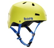 Bern ollie skate helmet fit yellow
