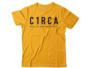 Circa Type quality tee gold
