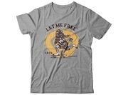 Circa Let me ftree tee athletic grey