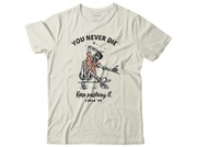Circa Tyou never die tee off white