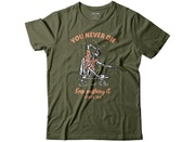 Circa Tyou never die tee military green