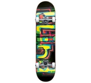Blind Blind logo glitch black 7.875 First Push Complete Skateboard