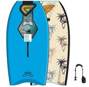 Flood Bodyboard Dynamx Stringer Blue palm print 44