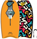 Flood FLOOD Bodyboard Dynamx Stringer 42 orange Tribal