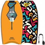Flood FLOOD Bodyboard Dynamx Stringer 40 orange Tribal